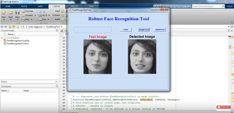 facial-recognition service